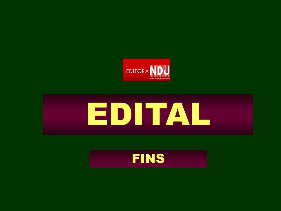 EDITAL FINS