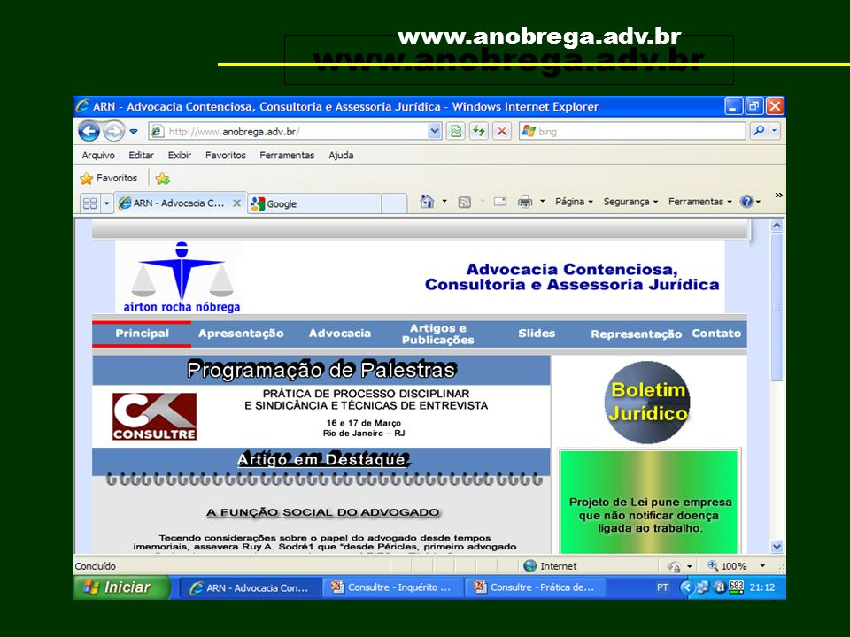www.anobrega.adv.br www.anobrega.adv.br