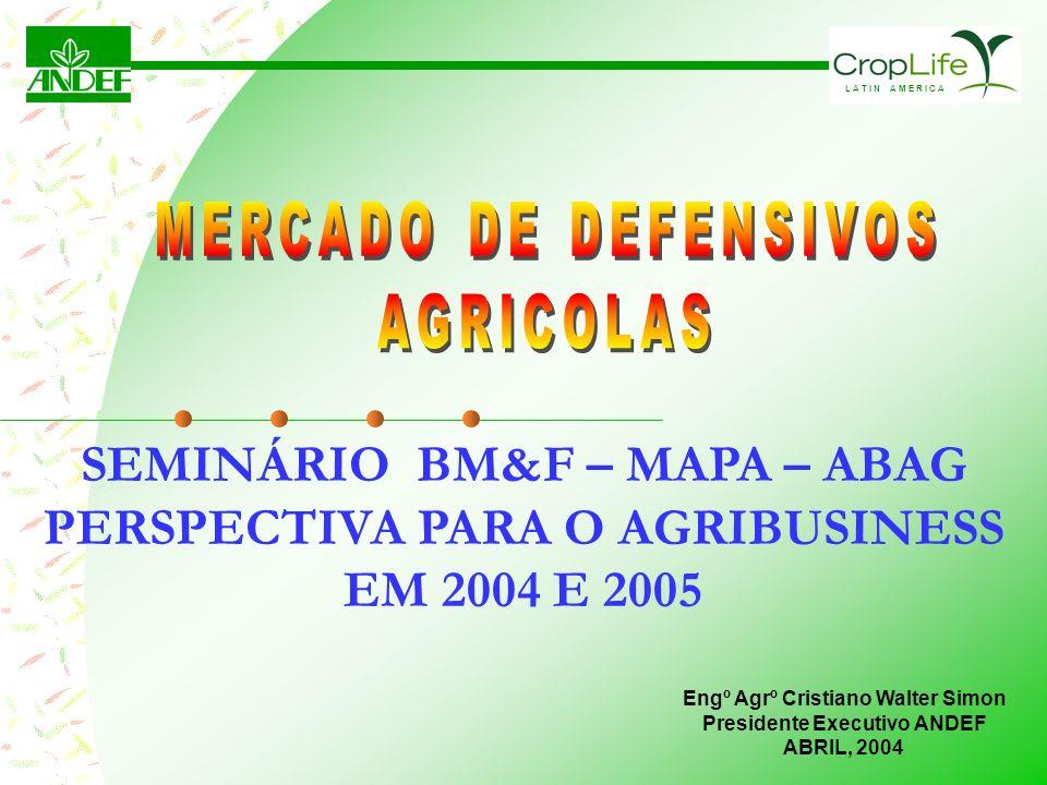 SEMINÁRIO BM&F – MAPA – ABAG PERSPECTIVA PARA O AGRIBUSINESS