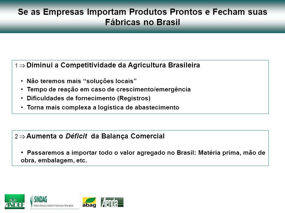 Se as Empresas Importam Produtos Prontos e Fecham suas Fábricas no Brasil