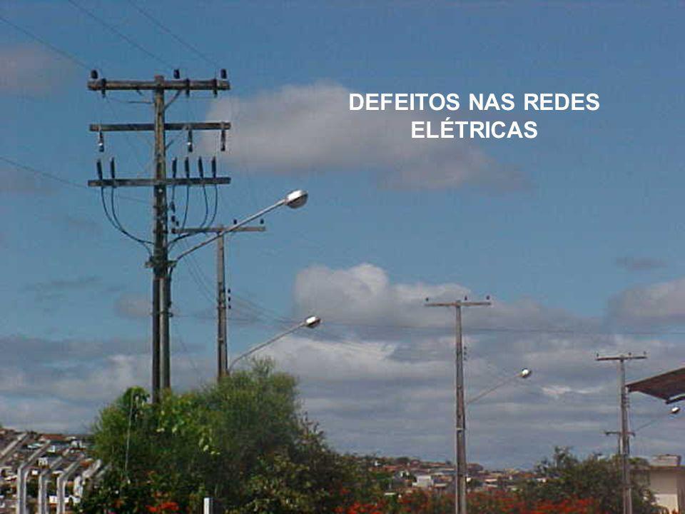 DEFEITOS NAS REDES ELÉTRICAS