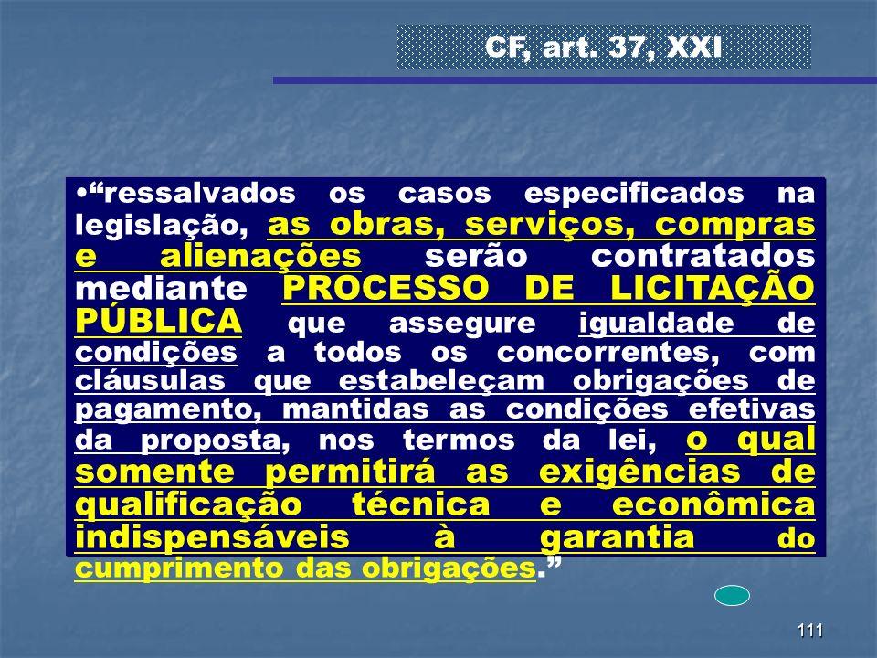 CF, art. 37, XXI