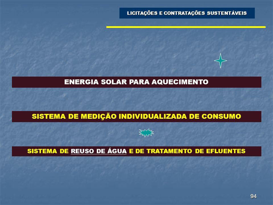 ENERGIA SOLAR PARA AQUECIMENTO
