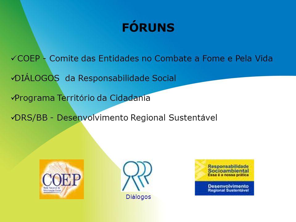 FÓRUNS COEP - Comite das Entidades no Combate a Fome e Pela Vida