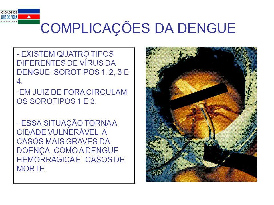 COMPLICAÇÕES DA DENGUE