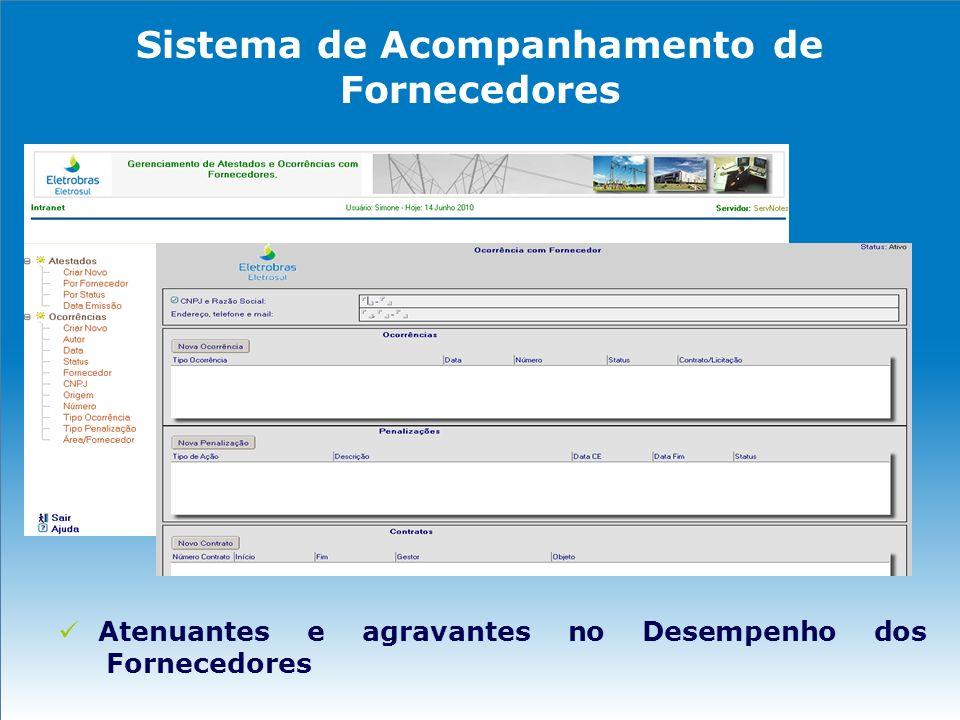 Sistema de Acompanhamento de Fornecedores