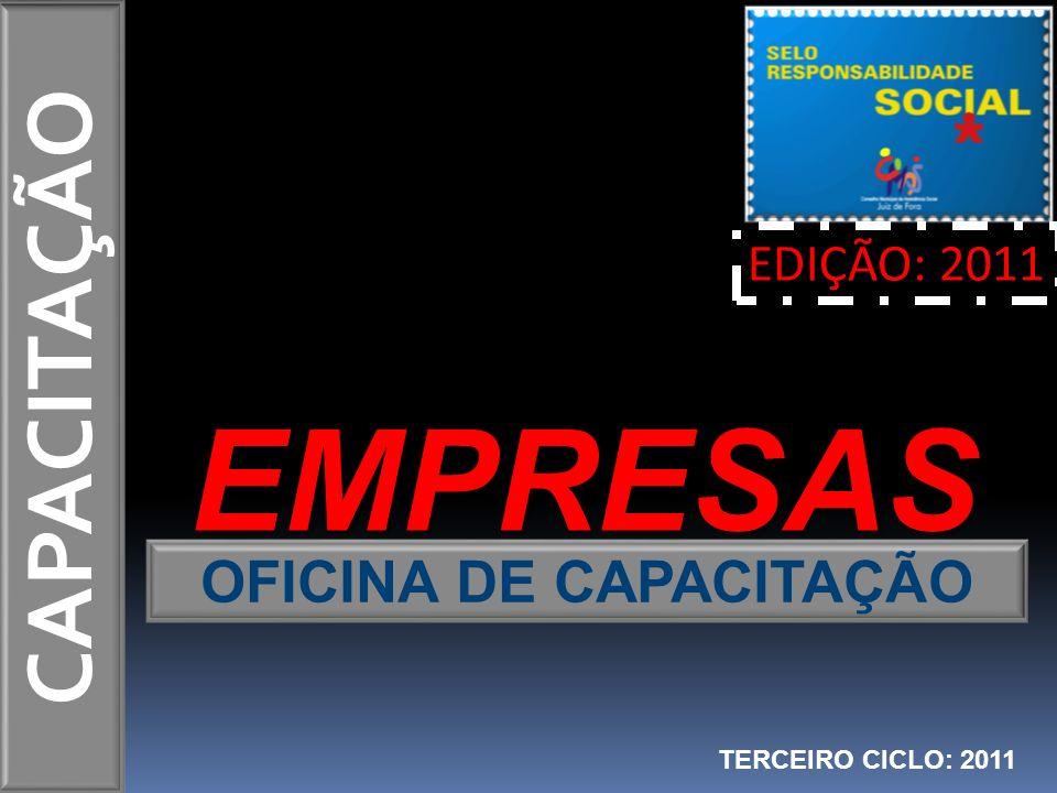 OFICINA DE CAPACITAÇÃO