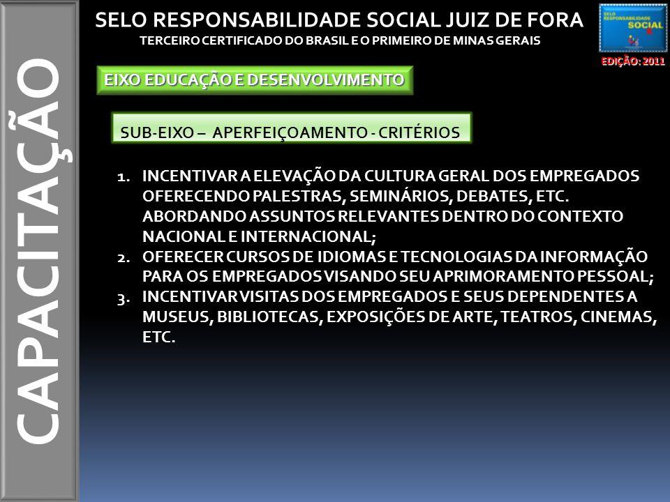 TERCEIRO CERTIFICADO DO BRASIL E O PRIMEIRO DE MINAS GERAIS