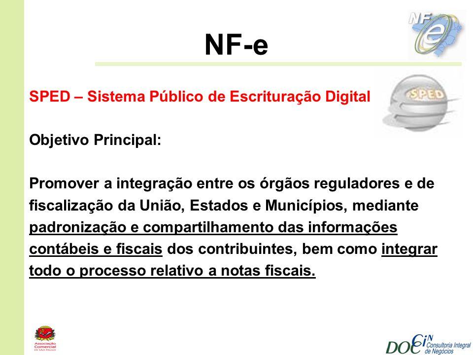 NF-e SPED – Sistema Público de Escrituração Digital