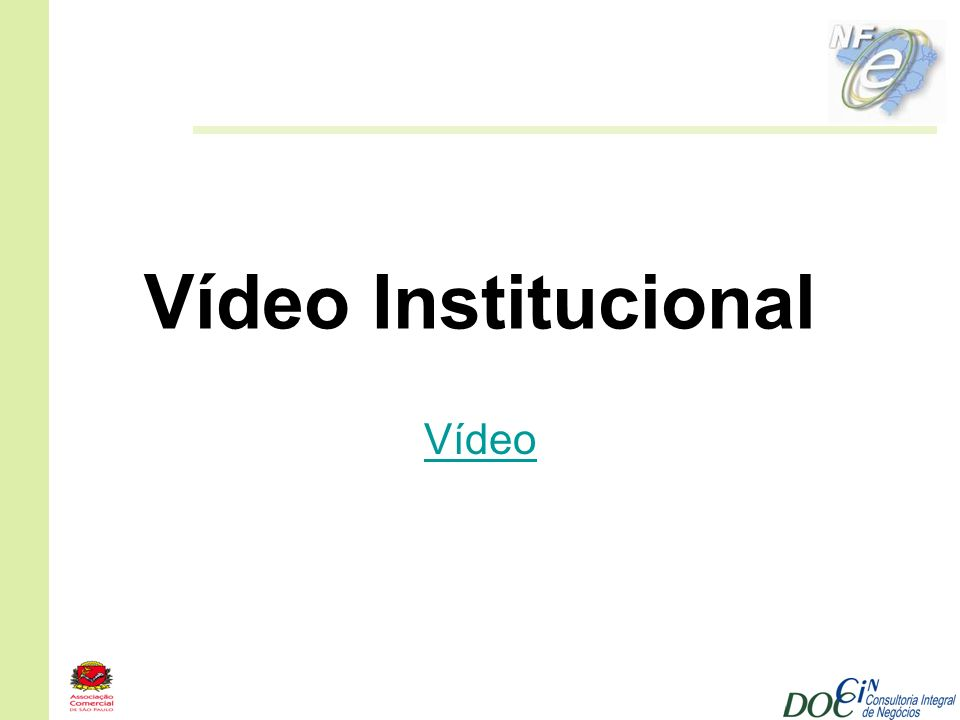 Vídeo Institucional Vídeo