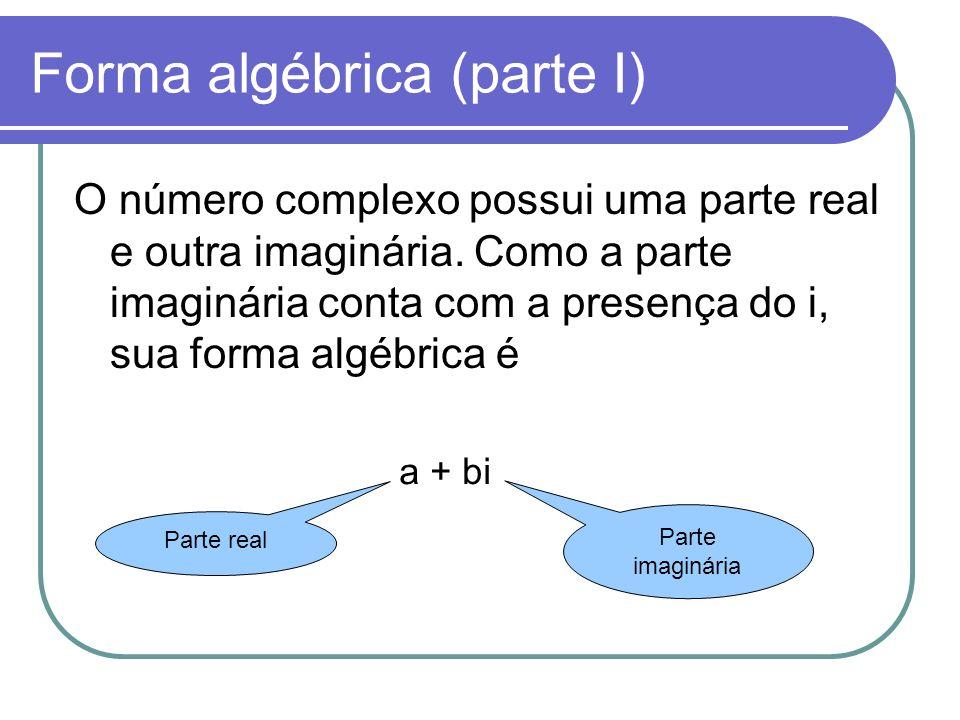 Forma algébrica (parte I)