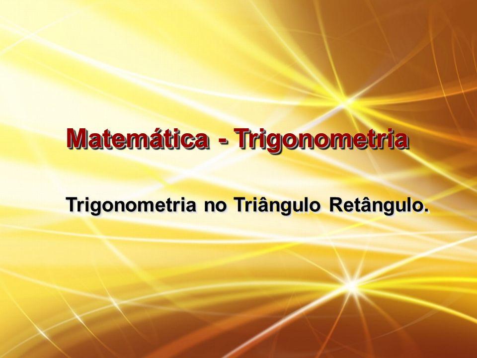 Matemática - Trigonometria