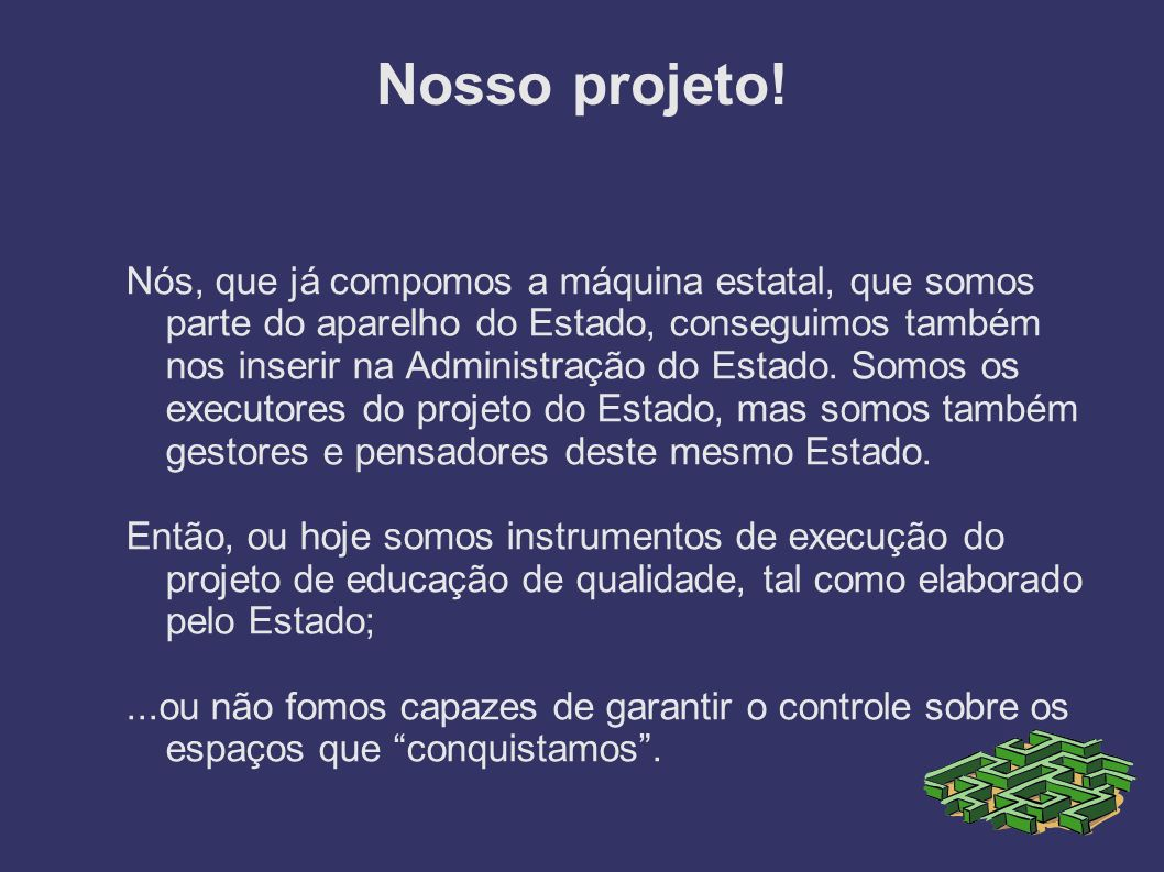 Nosso projeto!