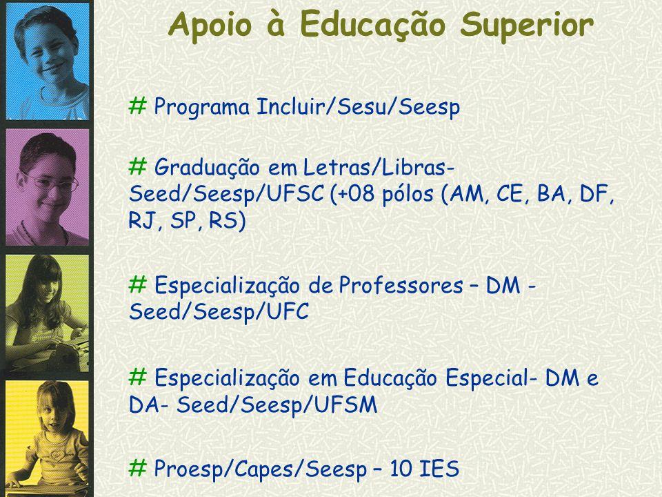 Apoio à Educação Superior