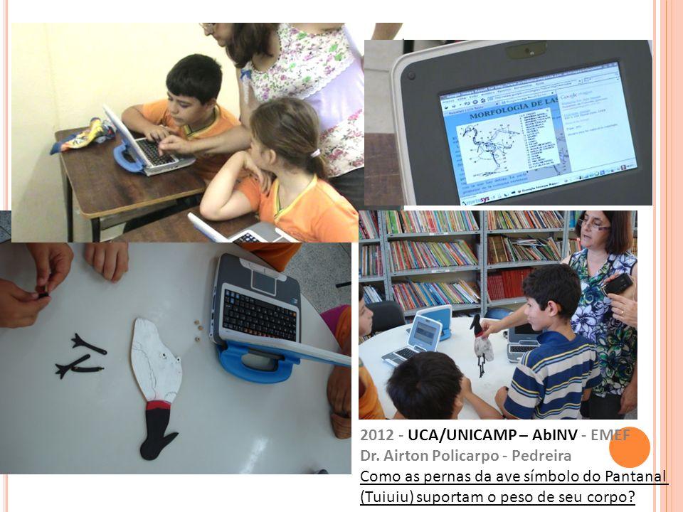 2012 - UCA/UNICAMP – AbINV - EMEF