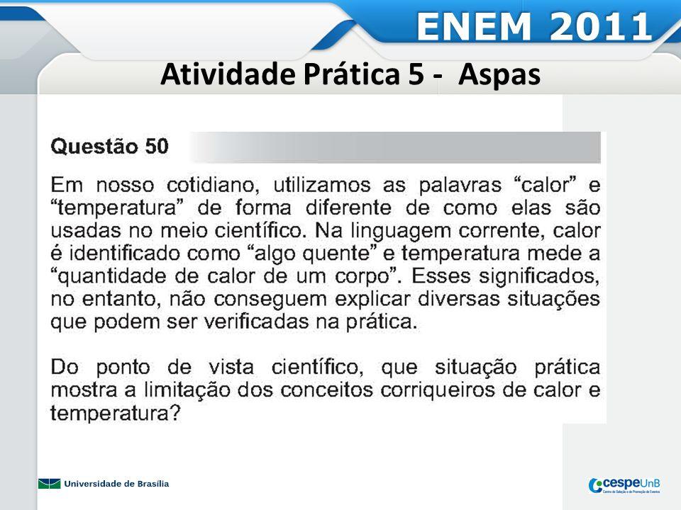 Atividade Prática 5 - Aspas