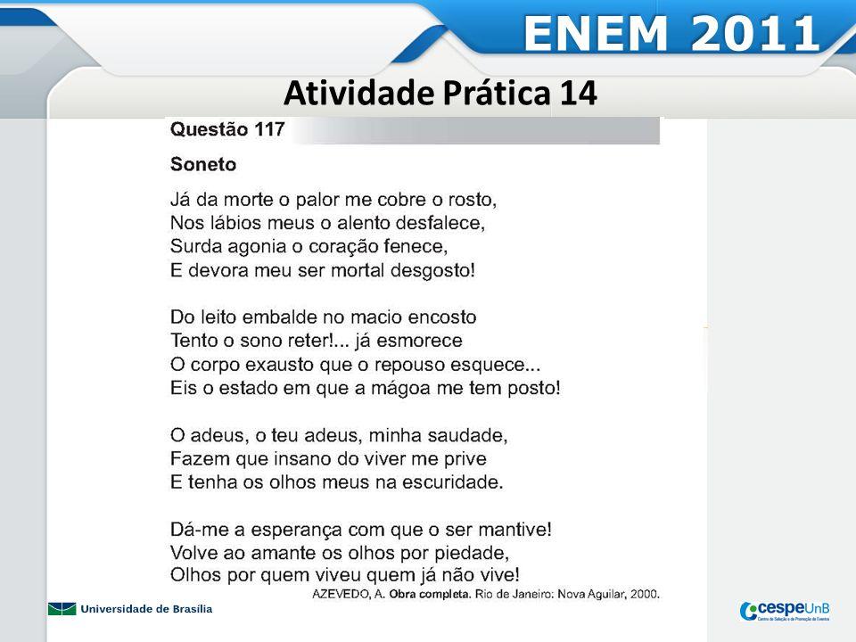 ENEM 2011 Atividade Prática 14