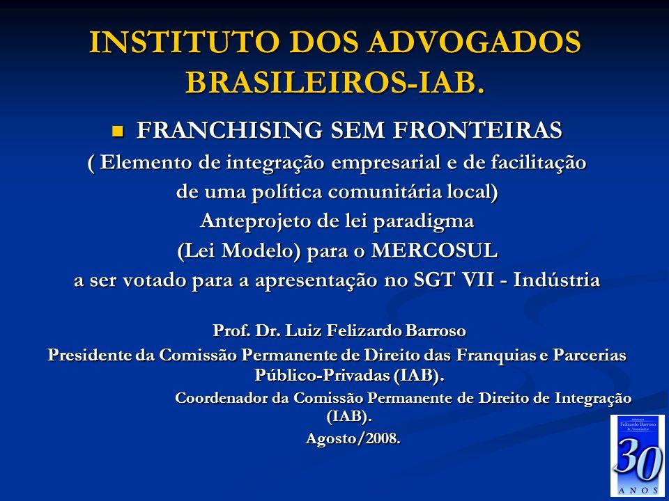 INSTITUTO DOS ADVOGADOS BRASILEIROS-IAB.