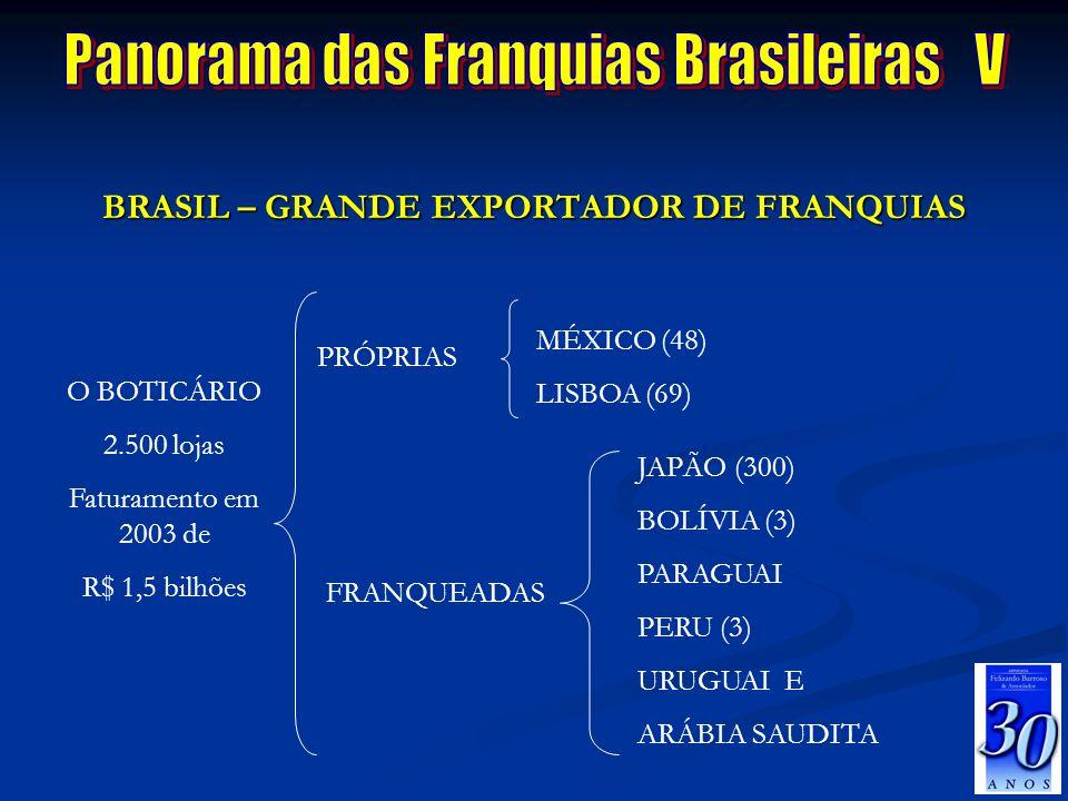 Panorama das Franquias Brasileiras V