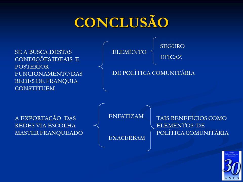 CONCLUSÃO SEGURO EFICAZ