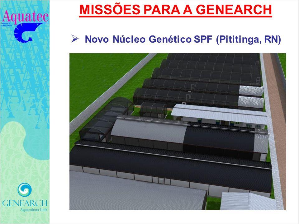 MISSÕES PARA A GENEARCH Novo Núcleo Genético SPF (Pititinga, RN)