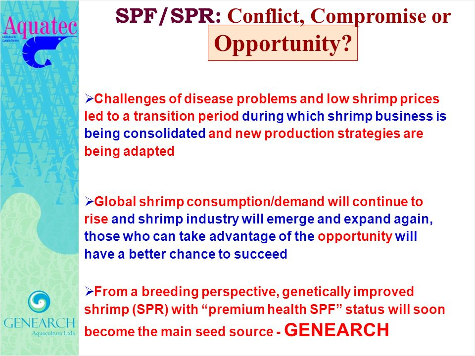 SPF/SPR: Conflict, Compromise or Opportunity