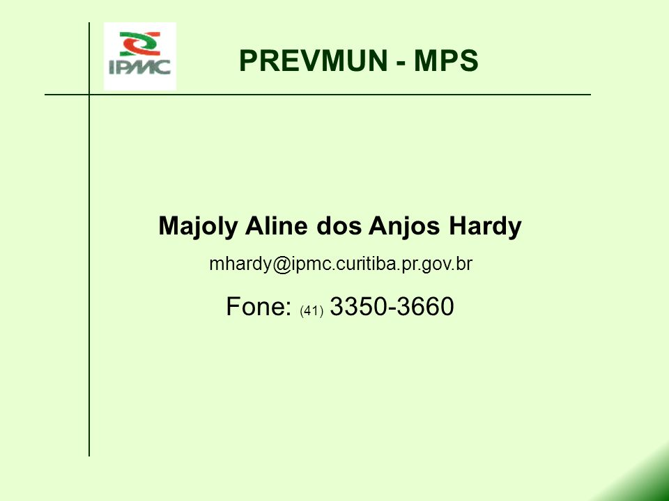 Majoly Aline dos Anjos Hardy