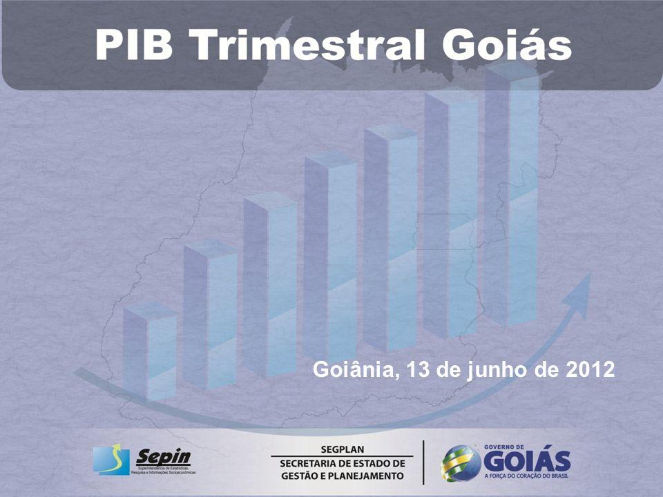 Goiânia, 13 de junho de 2012
