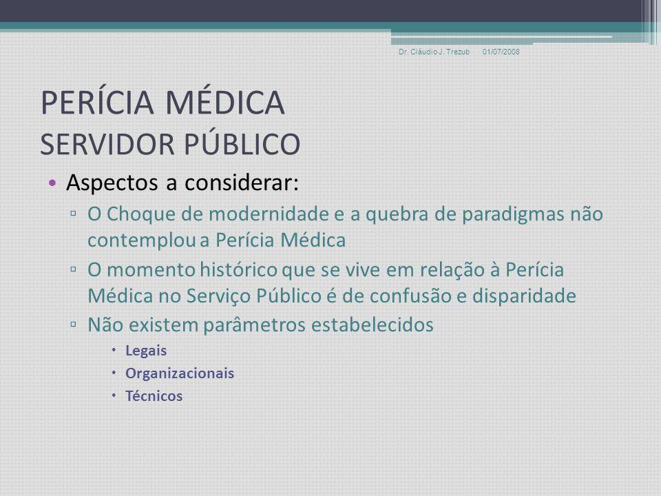 PERÍCIA MÉDICA SERVIDOR PÚBLICO