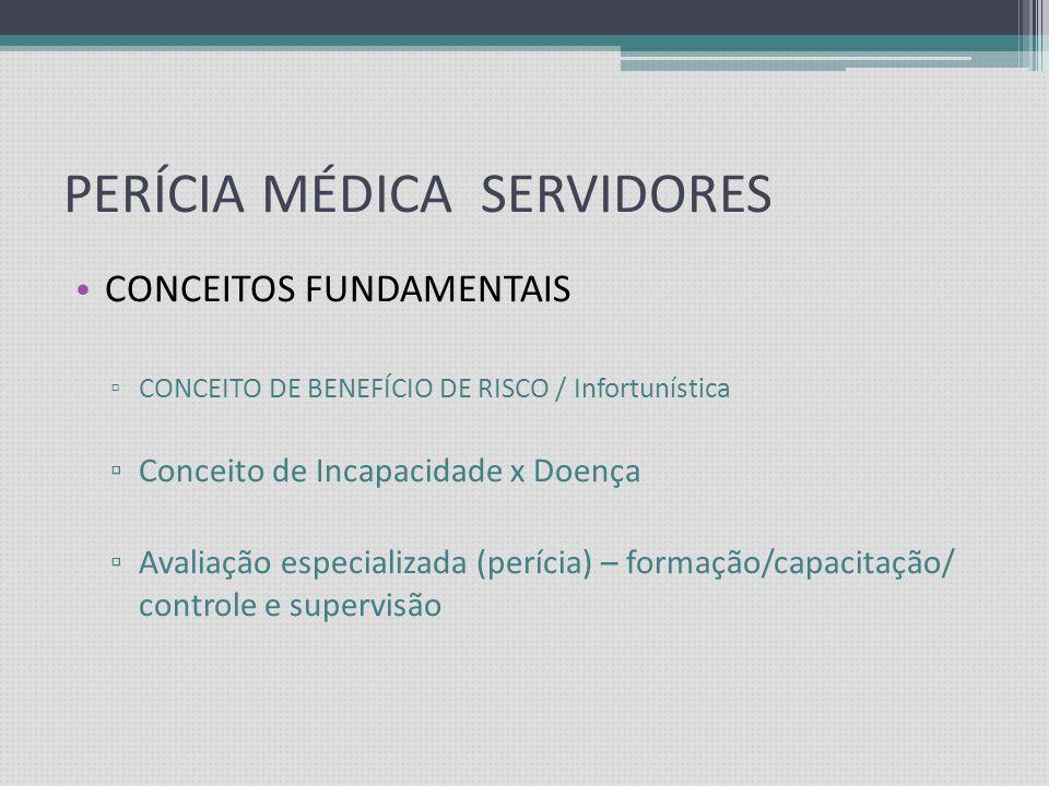 PERÍCIA MÉDICA SERVIDORES