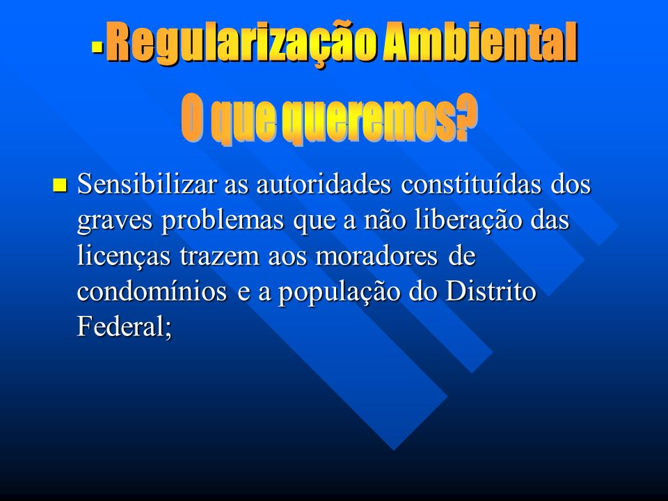 Regularização Ambiental