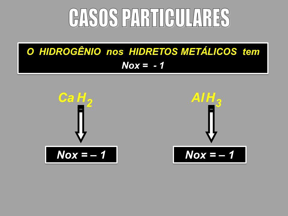 O HIDROGÊNIO nos HIDRETOS METÁLICOS tem