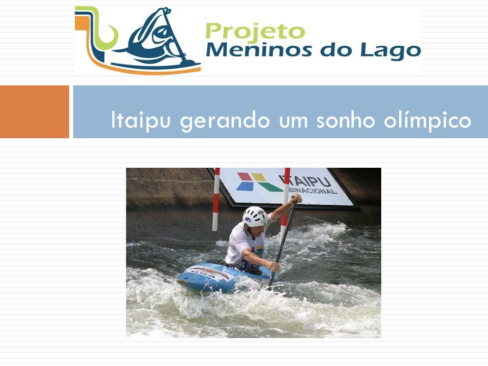 Itaipu gerando um sonho olímpico