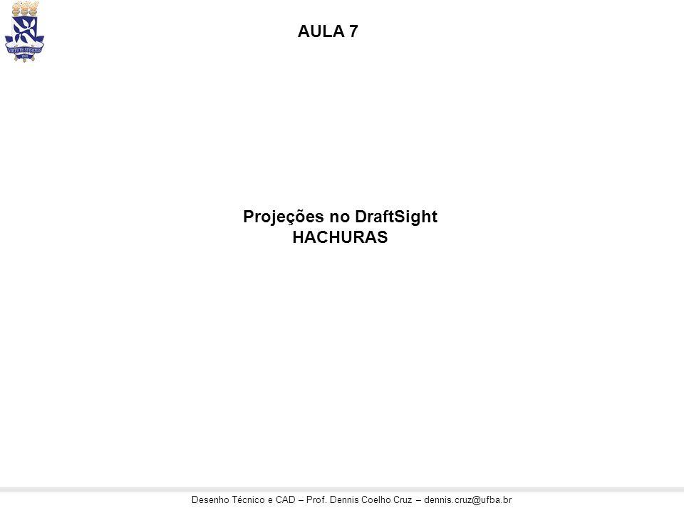Projeções no DraftSight