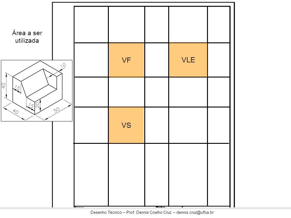 Área a ser utilizada VF VLE VS