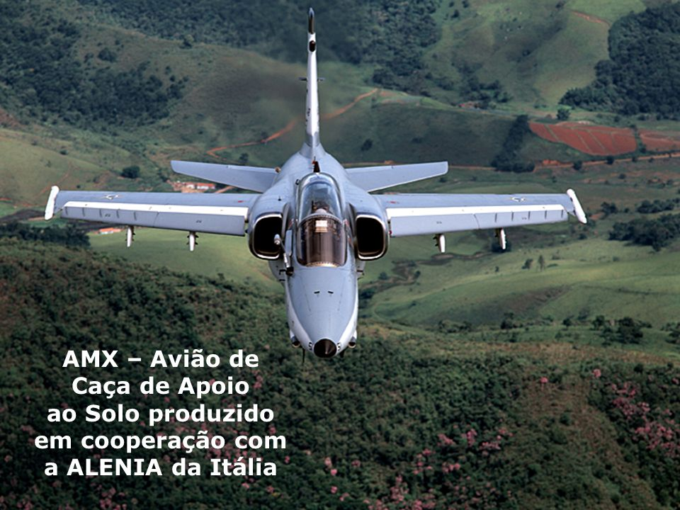 AMX – Avião de Caça de Apoio