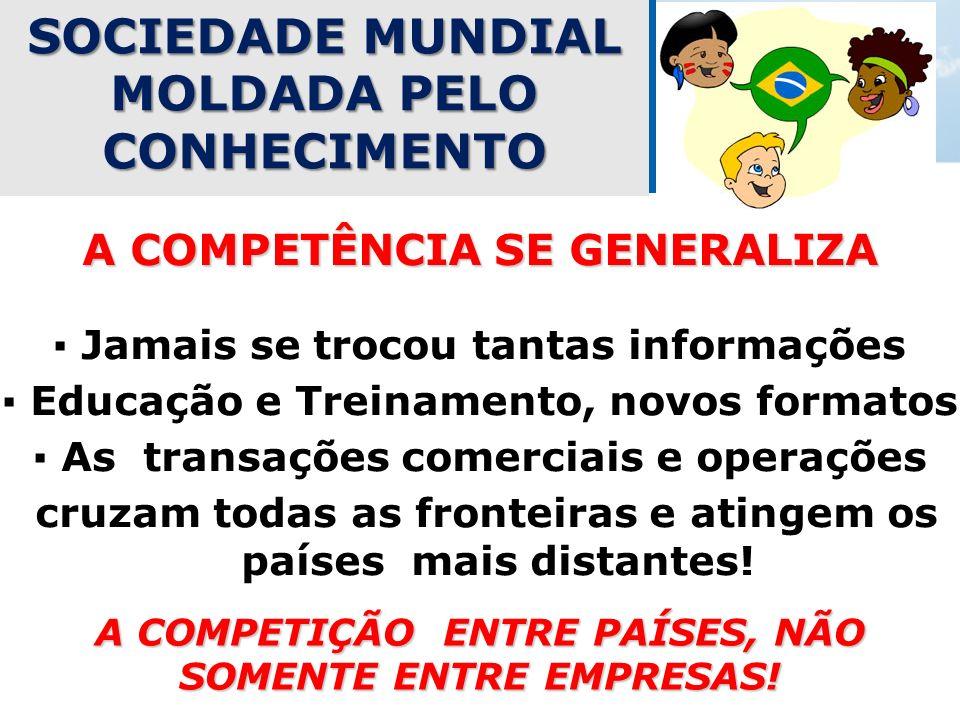 SOCIEDADE MUNDIAL MOLDADA PELO CONHECIMENTO