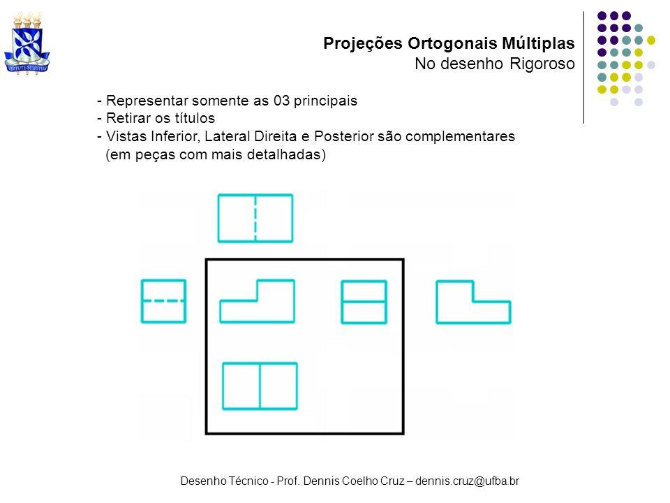 Projeções Ortogonais Múltiplas No desenho Rigoroso
