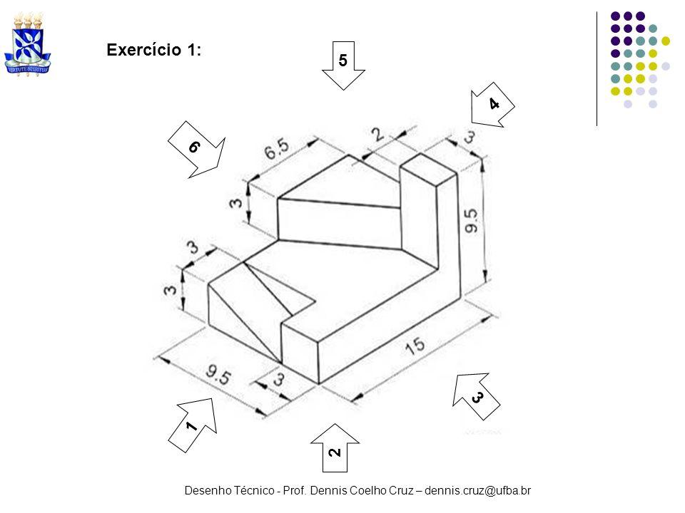 Exercício 1: 5 4 6 3 1 2