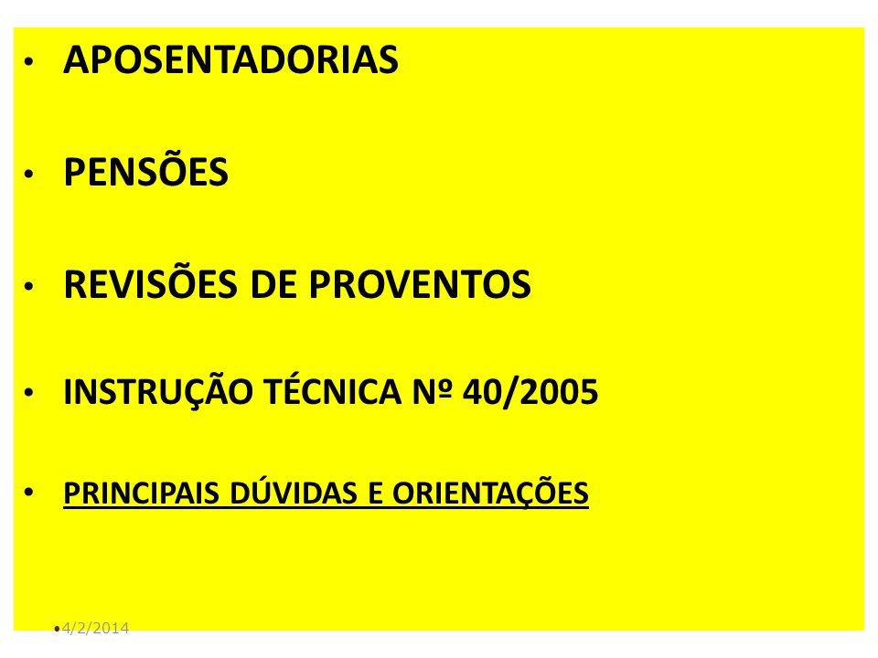 PRINCIPAIS DÚVIDAS E ORIENTAÇÕES
