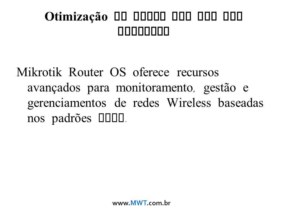 Otimização de Redes Sem Fio com Mikrotik