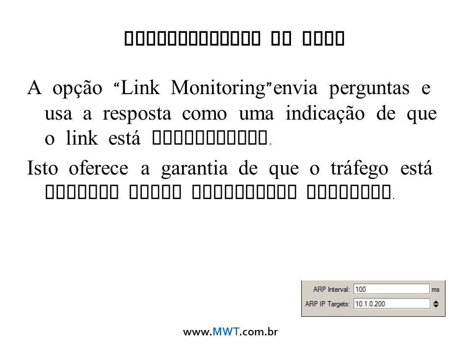 Monitoramento do Link