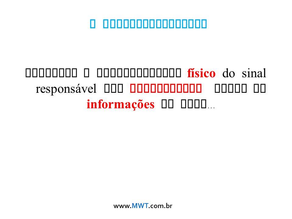 O Eletromagnetismo descreve o comportamento físico do sinal responsável por transportar todas as informações da rede...