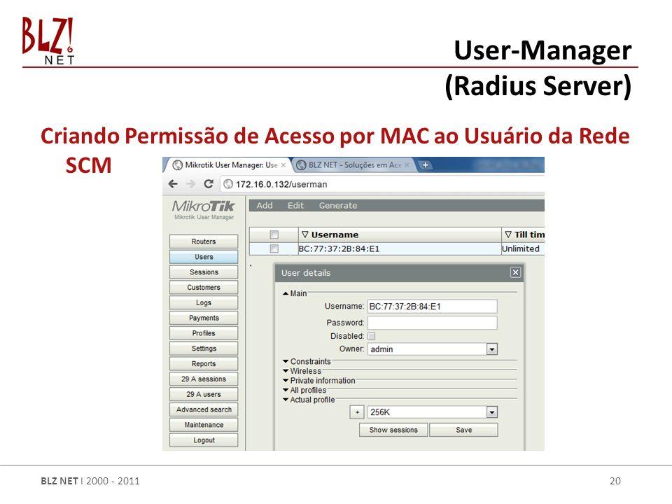 User-Manager (Radius Server)
