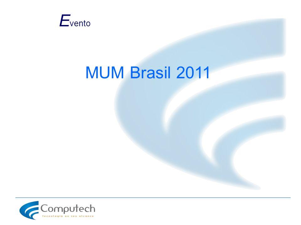 Evento MUM Brasil 2011