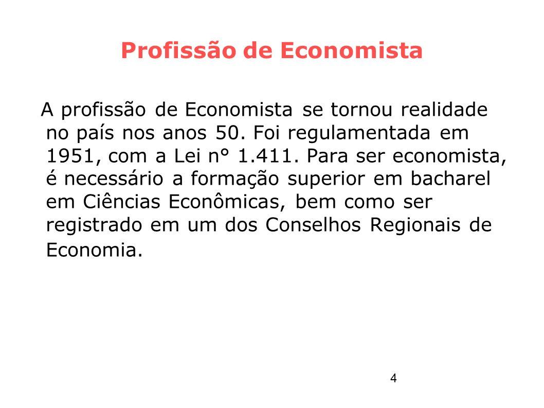 Profissão de Economista