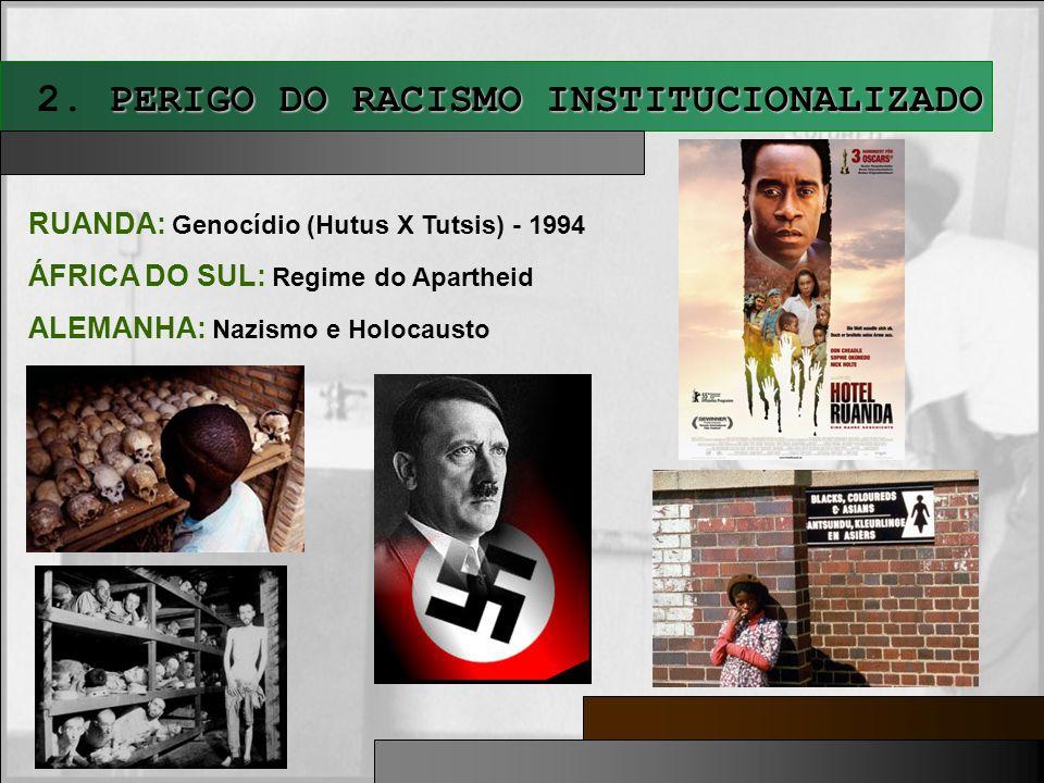 2. PERIGO DO RACISMO INSTITUCIONALIZADO
