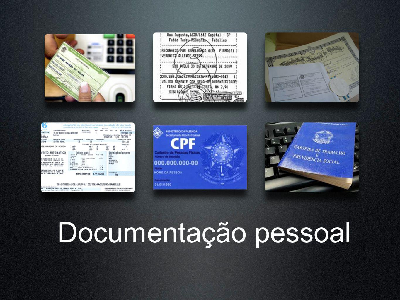 Documentação pessoal