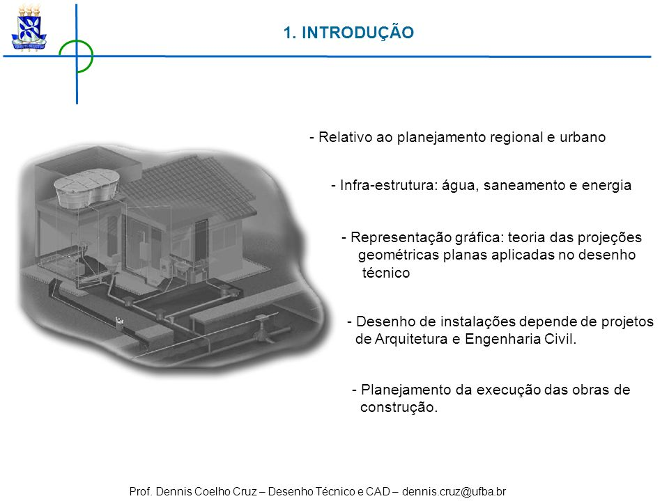 1. INTRODUÇÃO - Relativo ao planejamento regional e urbano