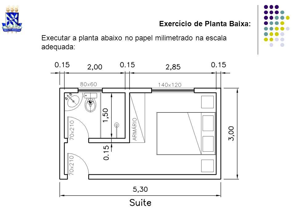 Exercício de Planta Baixa: